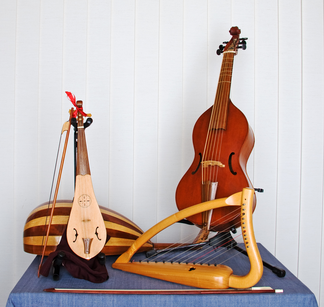 replica Tudor string instruments